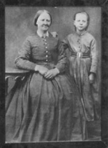 Amalia Eriksson med dottern Ida_webb