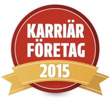 PRV: Karriärföretag 2015