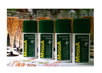 mygga effektivt skydd