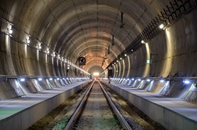 Färdigt tunnelrör.