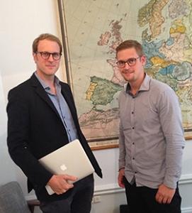 Nils Henckel och Niklas Franzén