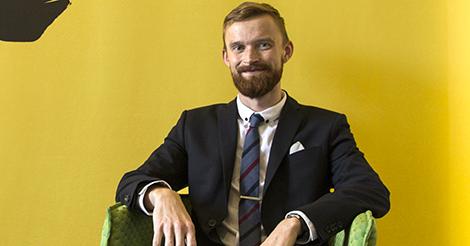 Johan Nordlund, jurist på PRV.