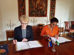 Signerat samförståndsavtal den 1 september 2017.