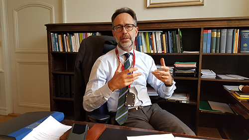 Peter Strömbäck, GD på PRV