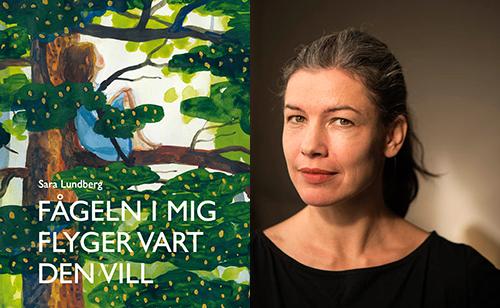 Sara Lundberg, författare och illustratör. Fotograf: Ola Kjellbye